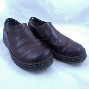 Dr. Martens Doc Mens Size 9 Loafers Brown Leather